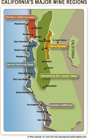 California Wine Regions Good